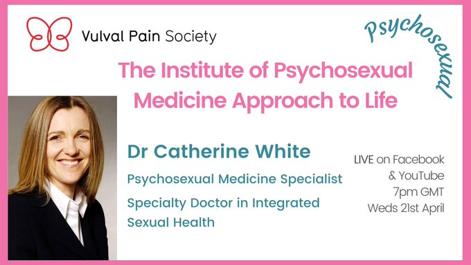 Watch Dr White's video on psychosexual medicine on YouTube