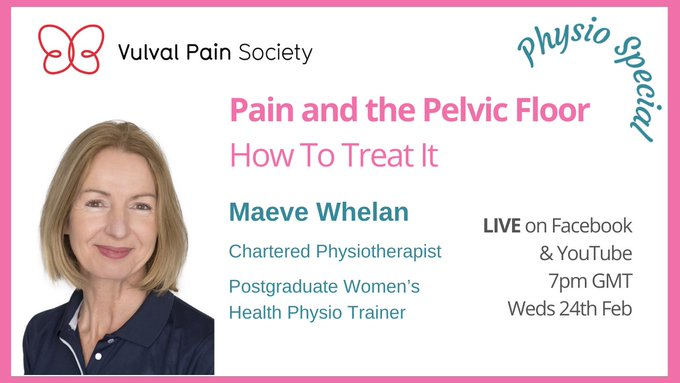 Watch Maeve Whelan's video on physiotherapy, pain and the pelvic floor on YouTube