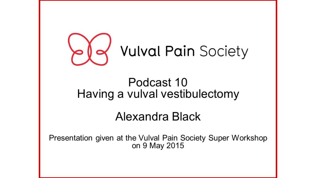 Watch Alexandra Black's presentation on YouTube